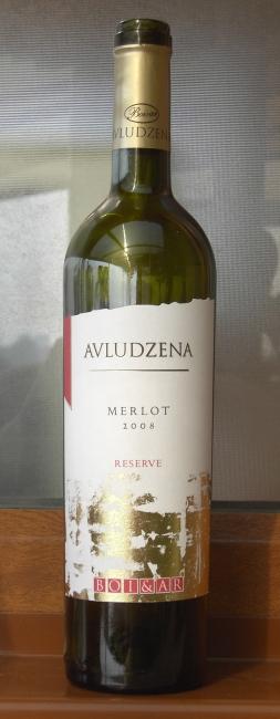 Avludzena Merlot Reserve 2008