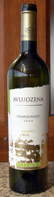 Avludzena Chardonnay Reserve 2008